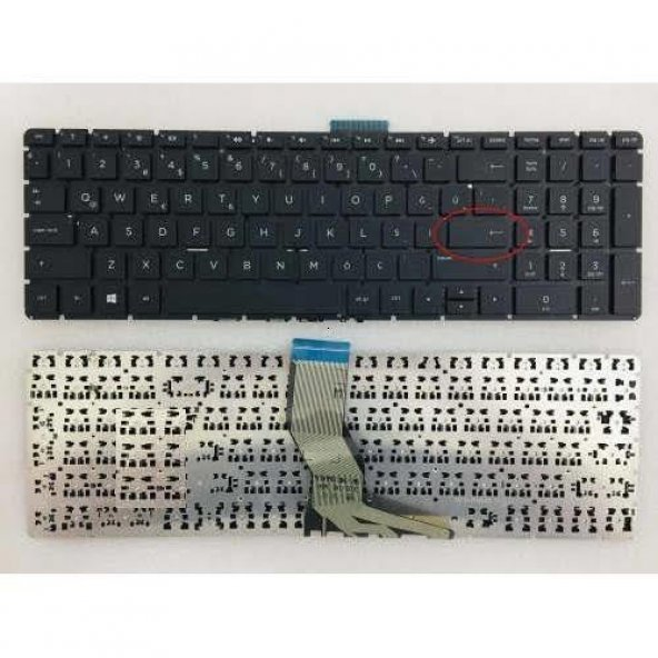 Hp 15-BW026NT Notebook Klavye (Siyah TR)
