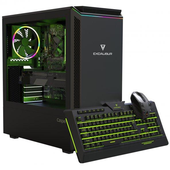 Excalibur E60L.940F-8EF0X-V-F Intel Core i5-9400F 8GB RAM 480GB SSD R7 240 2GB 128Bit  Freedos