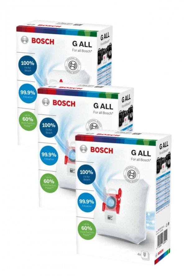 Bosch BBS 5 Optima Süpürge Toz Torbası (3 Kutu)