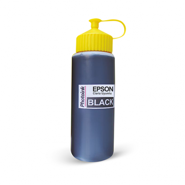 Photoink Epson L Serisi 500ml Siyah Mürekkep