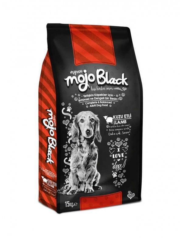 Mojo Black Kuzu Etli Köpek Maması 15 Kg