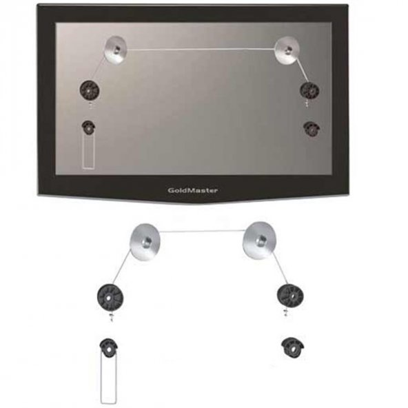 Goldmaster AS-1370 LED Ultra İnce Led Tv Askı Aparatı 222002
