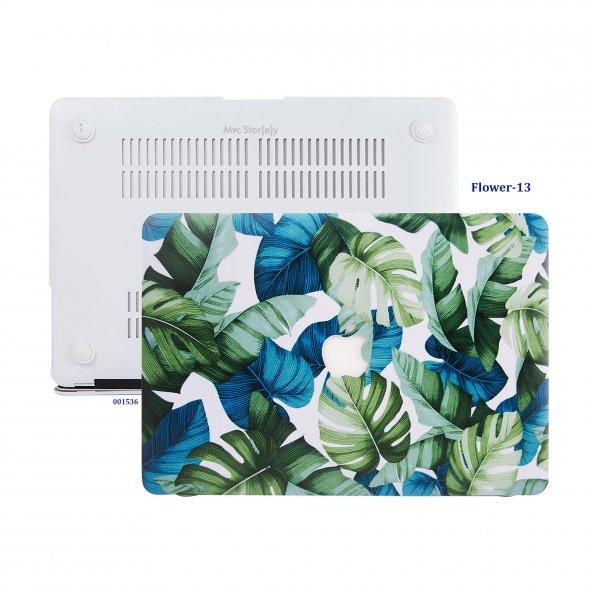 Mcstorey MacBook Air A1369 A1466 13 inç Kılıf Sert Kapak Koruyucu Hard ıncase Flowers 03-01-1535