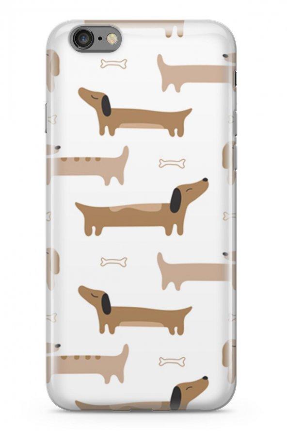 Apple iPhone 6 6S Plus Kılıf Doggie Serisi Aurora