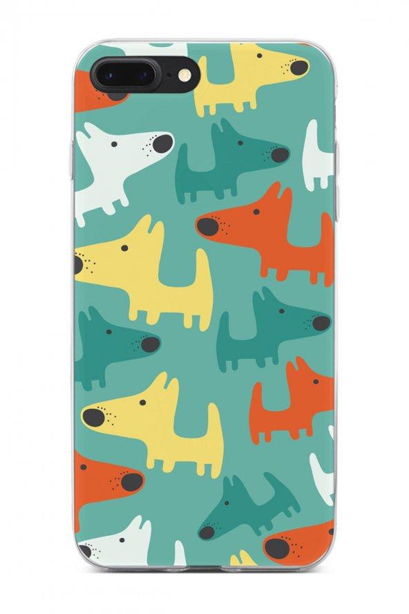 Apple iPhone 8 Plus Kılıf Doggie Serisi Kinsley