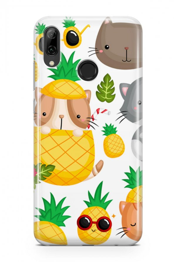 Huawei P Smart 2019 Kılıf Pineapple Serisi Addison