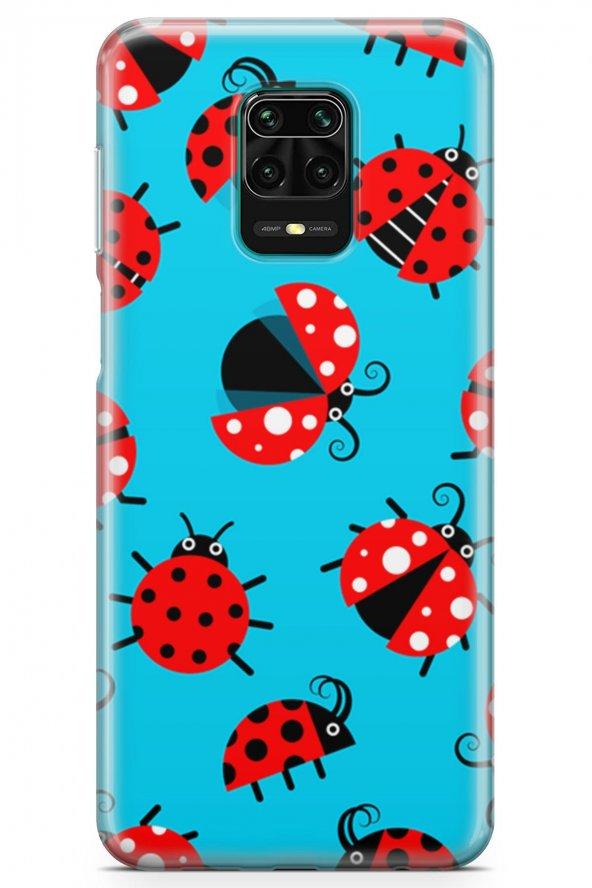 Xiaomi Redmi Note 9S Kılıf Ladybug Serisi Eden