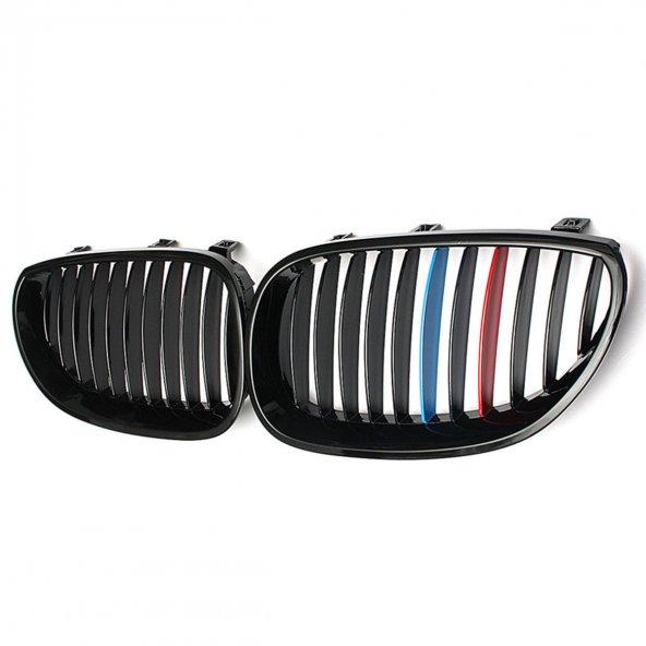 BMW E60 PARLAK SİYAH 3 RENK M5 PANJUR SETİ 2003-2010