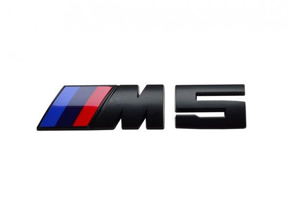 BMW M5 YAZI / LOGO SİYAH F10 51148060400 KÜÇÜK