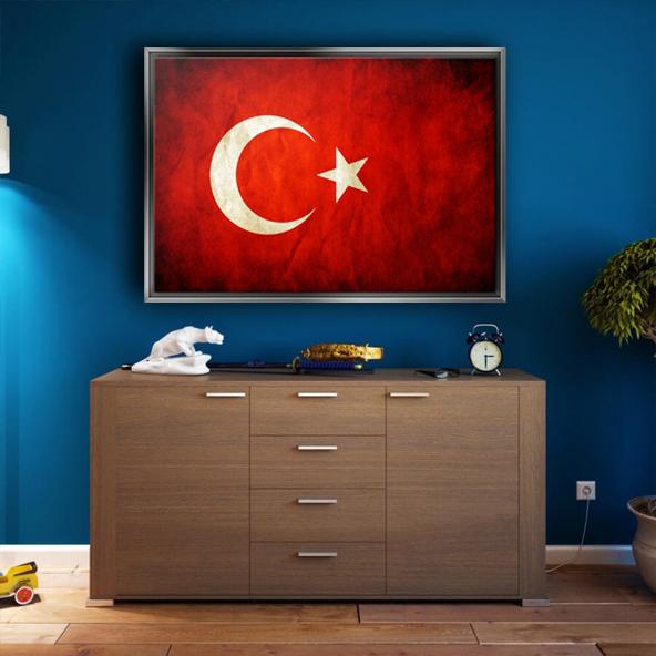 GÜMÜŞ ÇERÇEVELİ KANVASS TABLO214