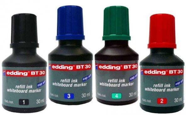 Edding BT30 Whiteboard Marker Ink Yazı Tahtası Kalemi Mürekkebi