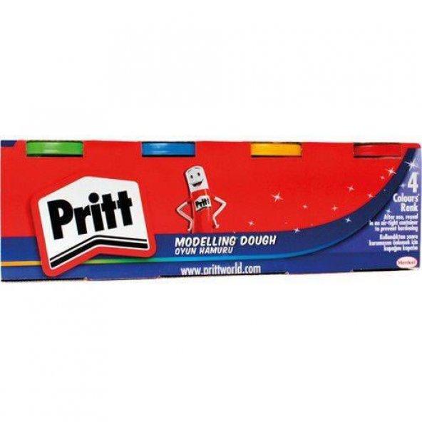 Pritt Oyun Hamuru 4 Renk 100 gr (1831458)