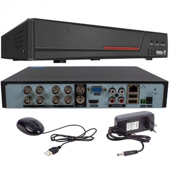 Ramtech RT-7508 5in1 5 Mp Destekli  8 Kanal Dvr Kayıt Cihazı (XVR-VİEW) 232003