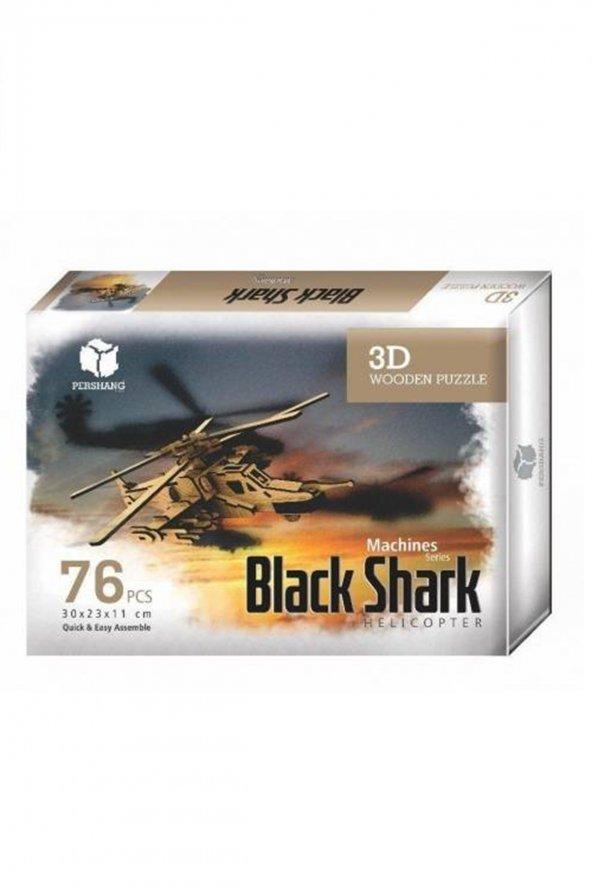 Kara Köpekbalığı Helikopteri Maket