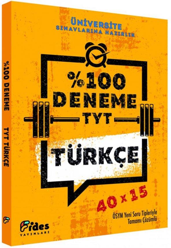 FİDES / TYT TÜRKÇE   100 DENEME