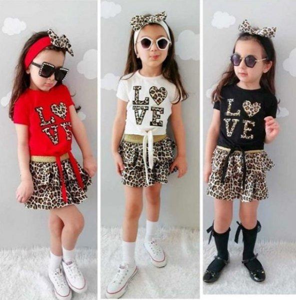 Kız Çocuk 3lü set 2-3 yaş