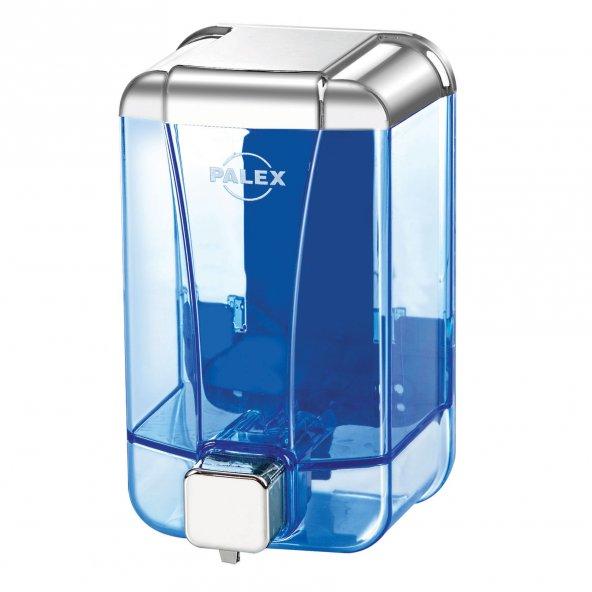 Palex 3420-2 Sıvı Sabun Dispenseri 500 CC Krom Şeffaf