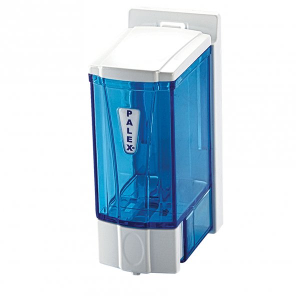 Palex 3562-0 Mini Sıvı Sabun Dispenseri 250 CC Şeffaf Mavi