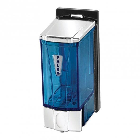 Palex 3562-2 Mini Sıvı Sabun Dispenseri 250 CC Krom Şeffaf