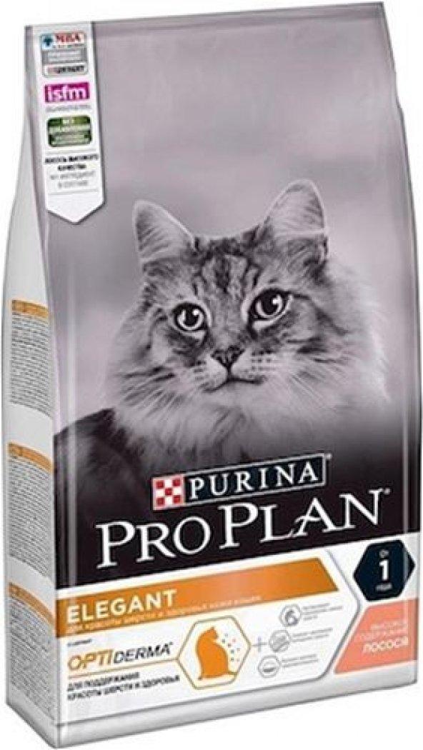 ProPlan Elegant Derma Plus Hairball Kedi Maması10KG SKT : 02.2021