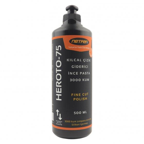 Netfer Heroto-75 Kılcal Çizik Giderici İnce Pasta - 500 ml