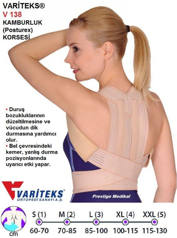 KLAVİ KULA ( POSTUREX ) DİK DURUŞ  KORSE   Variteks®  -  Orlex®