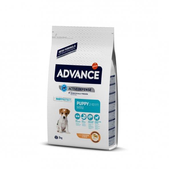 Advance Small Mini Puppy Tavuklu Köpek Maması 3 Kg