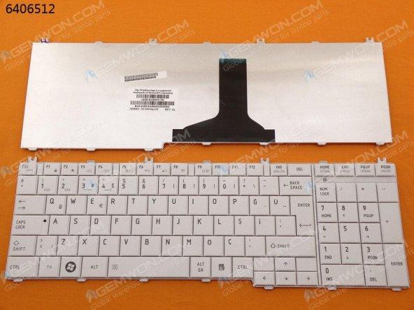 Toshiba Satellite L650-ST2N04  Klavye BEYAZ