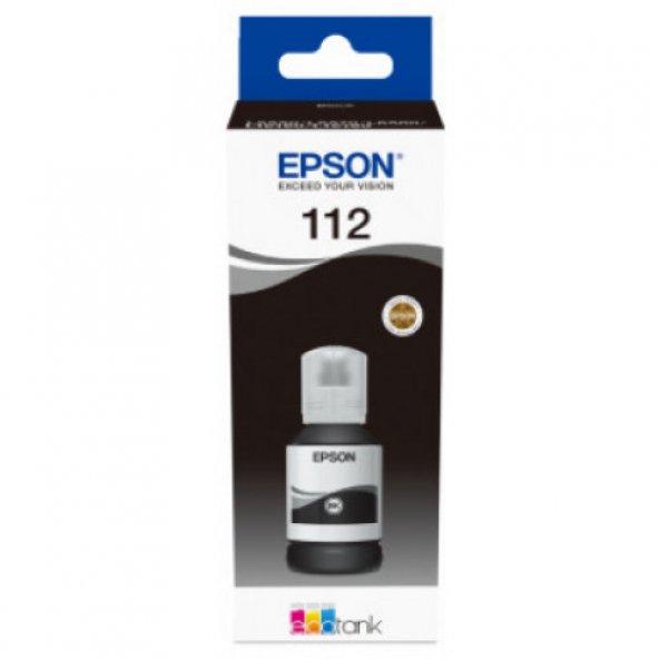 Epson T06C1 (112) Black Siyah Şişe Mürekkep C13T06C14A