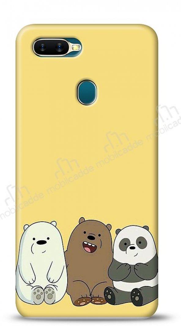 Oppo AX7 / Oppo A5s Bears Kılıf