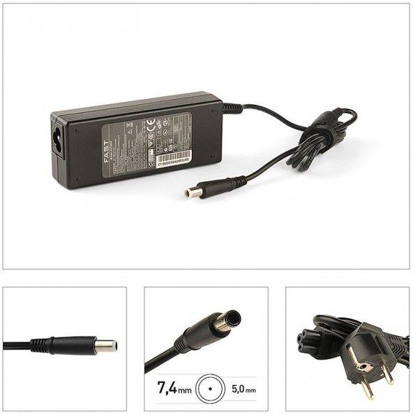 HP 19V 4.74A 7.4*5.0mm Fast Şarj Adaptörü