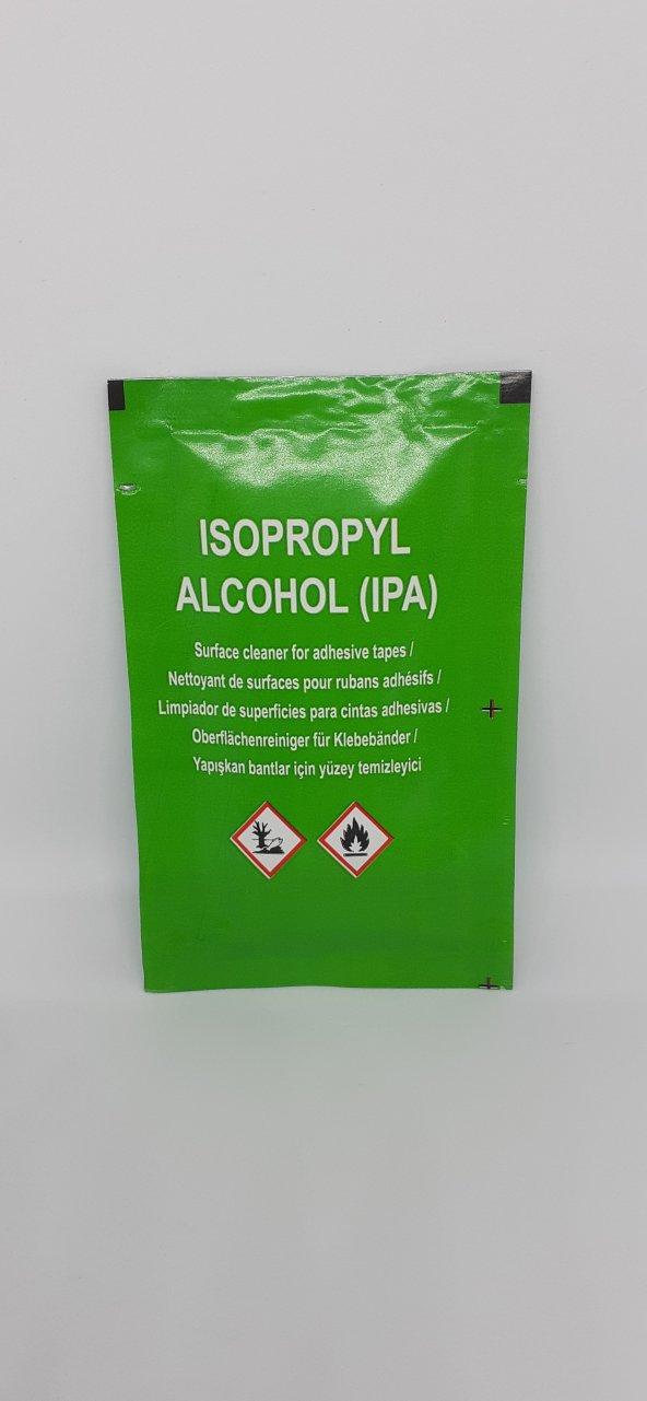 İzopropil Alkol (IPA ipa), Mendil Formunda, Çift Taraflı Bant İçin Yüzey Temizleyici, 5'li Paket