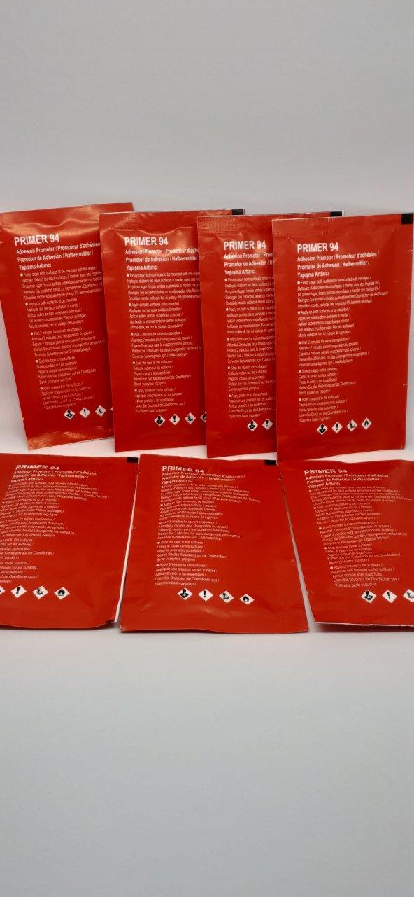 3M Primer 94 Yapışma Mukavemet Arttırıcı Mendil, Kanal İlacı, 5'li Paket