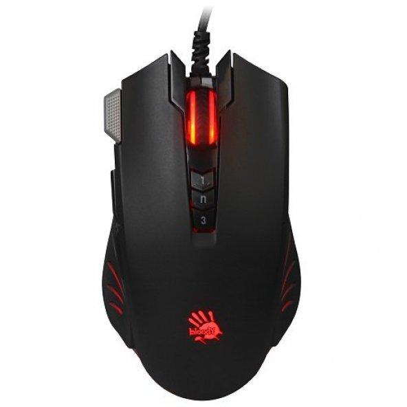 Bloody V9MA UC3&4 Aktif Optik 4000CPI 6 Tuş Gaming Mouse