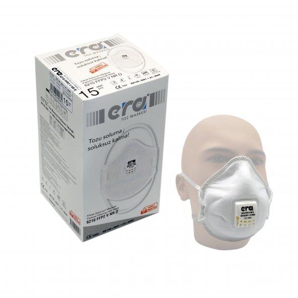 N95 Maske ERA 6210 FFP2 Ventilli1 Adet