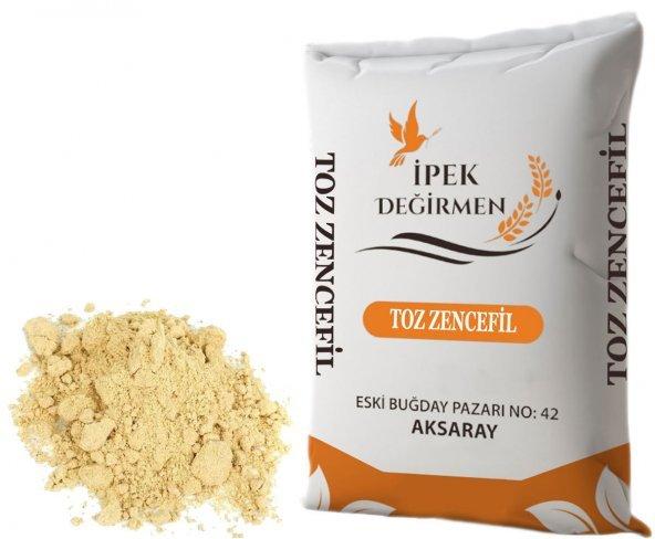 İpek Değirmen Baharat Çeşni Toz Zencefil Çayı İçin İdeal 1 KG