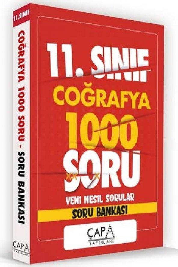 Çapa Yayınları 11. Sınıf Coğrafya Soru Bankası