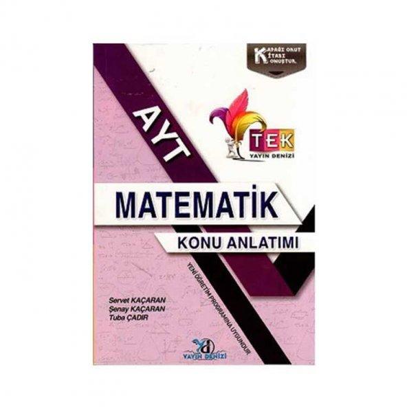 Yayın Denizi Yayınları AYT TEK Serisi Matematik Konu Anlatımlı Cep