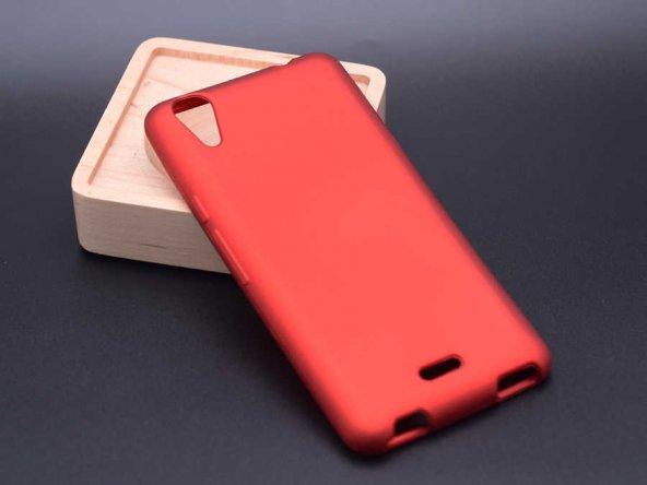 Casper Via V3 Kılıf Premier Silikon Kırmızı Renk
